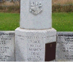 Catilina Monument 2– A closer view of the monument in Catalina where Sydney Hillier Clouter  is commemorated.