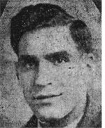 Press Clipping– Clipping notes that brother was wounded in action.