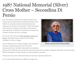 National Memorial Cross Mother– Submitted for the project, Operation Picture Me