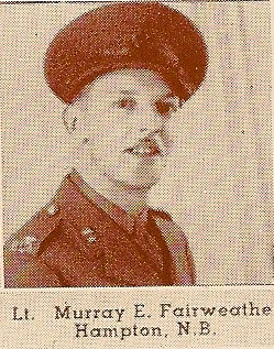 Photo of Murray Eugene Fairweather