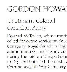 Book of Remembrance– Source: City of London, Ontario  online)