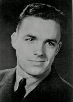 Photo of Charles Stanley Bascom– Charles Stanley Bascom, was born May 12, 1920 in Stirling, Alberta, the son of former Utah lawman John W. Bascom and Ada Romeril Bascom. Charles joined the Royal Canadian Air Force, working as an airplane mechanic, stationed near Columbo, Ceylon (Sri Lanka).  He died on Dec. 3, 1944 having saved one airman's life from drowning but dying trying to save another.