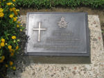 Grave Marker– Grave marker of DA Bayley in the Chittagong War Cemetery, Chittagong, Bangladesh. Photo date: 10 May 2010.