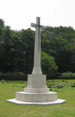Cross of Sacrifice– Chittagong War Cemetery, Chittagong, Bangladesh. Photo date: 10 May 2010.