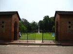 Entrance– Chittagong War Cemetery, Chittagong, Bangladesh. Photo date: 10 May 2010.