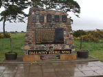 Memorial– This memorial is located in Dallachy, Scotland.