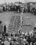 Funeral– This took place in Norway.