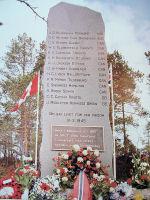 Memorial– This memorial is located in Norway.