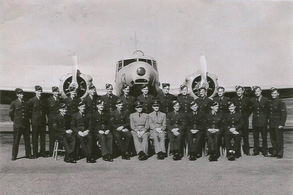 RAF 97 Squadron team