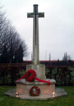 Cross of Sacrifice– Photo of Cross of Sacrifice at Palsjo War Cemetery Courtesy of Carin Olofsson http://www.hembygdshistoria.se/palsjo/cw2.htm