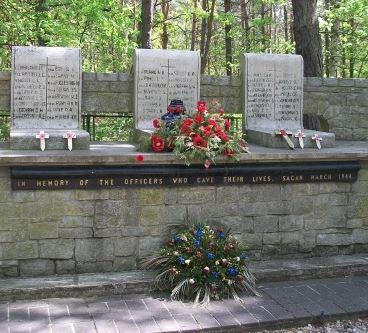Memorial– Memorial - Stalag Luft III, Zagan, Poland … photo courtesy of Marg Liessens