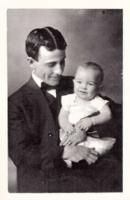 Group Photo– Richard and his father Ralph. Submitted for the project, Operation Picture Me