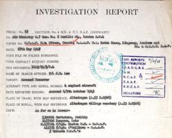 Investigation Report– Submitted for the project, Operation Picture Me