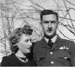 Photo of Alexander Edgar– Alexander William (Bill) Edgar was married just a few months prior to going overseas.