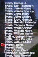 Memorial– Sergeant Denis Everest is also commemorated on the Bomber Command Memorial Wall in Nanton, AB … photo courtesy of Marg Liessens