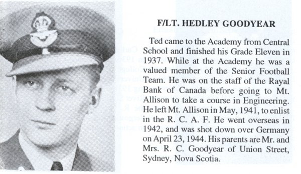 Photo of Hedley Charles Goodyear