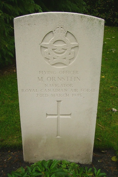 Grave marker– Becklingen War Cemetery … photo courtesy of Marg Liessens