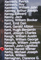 Memorial– Wing Commander Harold Wilmer Kerby is also commemorated on the Bomber Command Memorial Wall in Nanton, AB … photo courtesy of Marg Liessens