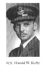 Photo of Harold Kerby– From:  University of Toronto Memorial Book Second World War 1939-1945.  The book was published by the Soldiers' Tower Committee, University of Toronto.   Submitted with permission, by Operation Picture Me.