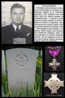 Photo of Herbert H. Kinghorn– The Canadian Memorial Cross and other photos of Navigator Herbert H. Kinghorn RCAF, Killed on an ops over Munich 1944.