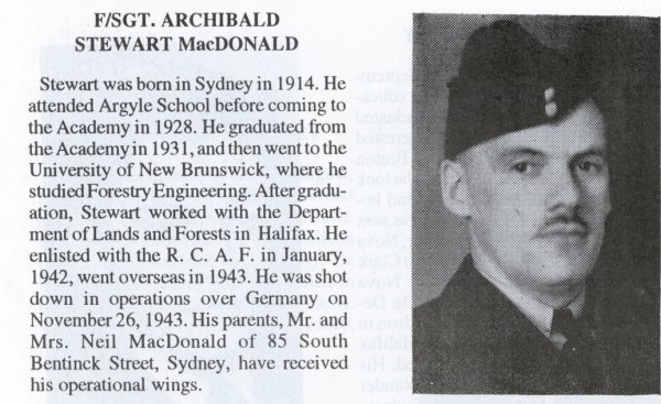 Photo of Archibald Stewart MacDonald