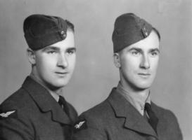 Photo of Elmore Mcmorran– This photo is of Elmore Mcmorran (left) and his brother Melvin McMorran(right) together.