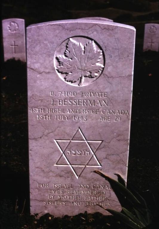 Headstone for Jack Besserman