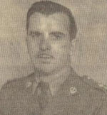 Newspaper Clipping– Joseph Leo Bouchard Left.  Submitted for the project, Operation: Picture Me