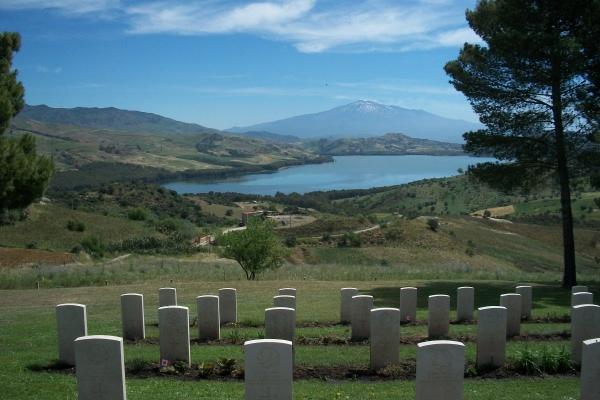 Agira Canadian War Cemetery– Photo courtesy of Marg Liessens - 2013