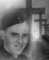 Photo of William Leonard Brown– Submitted for the project, Operation Picture Me