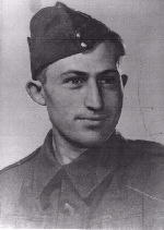 Photo of Arnold N. R. Burfield– Arnold (Casey) Burfeild fought with his brother Bruce and died in Sicily.