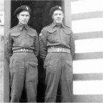 Photo of Richard Bury– Richard Bury at Camp Borden circa 1942