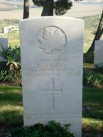 Grave marker– Agira War Cemetery - Sicily