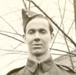 Photo of Ralph Stanley Eckhardt– Ralph S. Eckhardt, B.E.M. before going overseas about 1941.  Ralph was born December 5, 1920 in Port Dalhousie, Ontario, the son of Norman and Florence Eckhardt.  His brothers,Bruce and Charles also served overseas.
