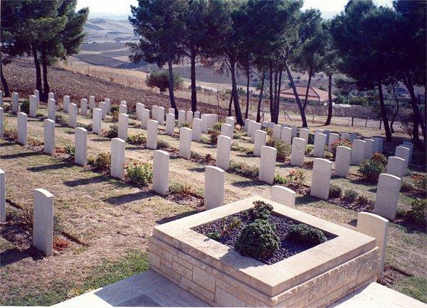Agira Canadian War Cemetery