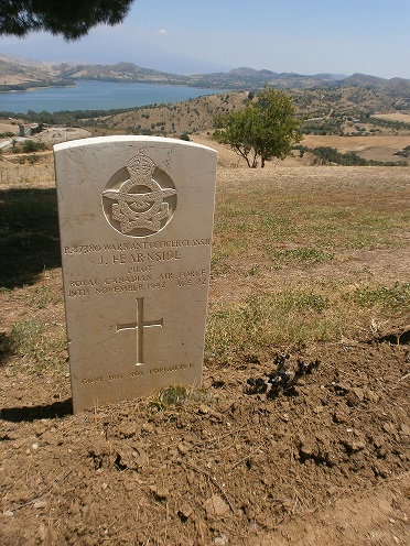 Grave Marker– AGIRA CANADIAN WAR CEMETERY, SICILY
