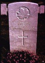 Headstone of Morley Gordon