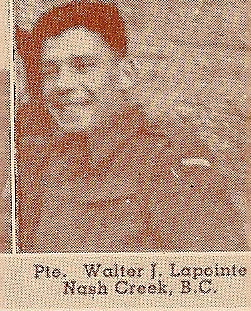 Photo of Walter James Lapointe