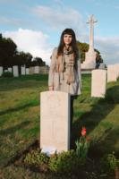 Paying respects– We share the last name Plourde