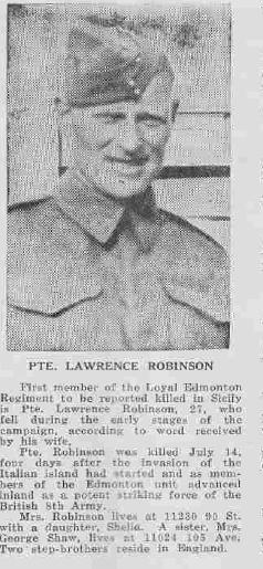 Photo of Laurence Robinson