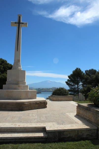Cemetery– Cross of Sacrifice - Agira Canadian War Cemetery - 2013