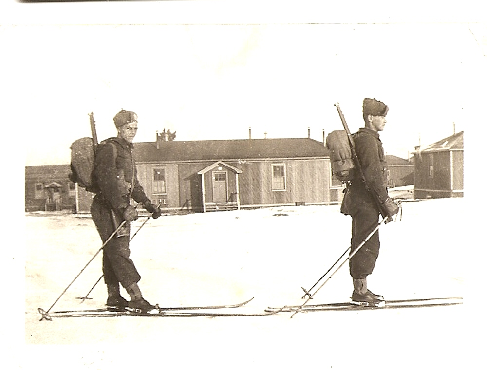 Photo of Edwin Berry– Uncle Ted training in Lytton, BC 1939