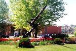 Sculpture– A modern sculpture, created by Armand Vaillancourt of Montréal, was erected near City Hall on 15 November 1959 by the Young Chamber of Commerce of Chicoutimi. It is dedicated to the citizens of Chicoutimi who died during the two Great World Wars and calls to mind the horrors of war, 201 Racine Street, Chicoutimi, Quebec.   1914-1918  AUBIN L.  BOLDUC J.R.  BOULIANNE C.  BEAUHEMIER J.E.  KANE R.  CÔTÉ R.  DALLAIRE E.  DESBIENS J.  DESMEULES A.  DUBÉ J.  DUBUC J.  FORTIN A.  GAGNON S.  GIRARD J.  GUAY P.E., D.S.O.  LAROUCHE W.  1939-1945   À CET ENDROIT, EST ENFOUIE DE LA TERRE PRISE EN FRANCE EN 1953 SUR LA TOMBE D'UN GARS MORT AU FRONT EN 1944. http://www.cmp-cpm.forces.gc.ca/dhh-dhp/nic-inm/sm-rm/mdsr-rdr-eng.asp?PID=3821