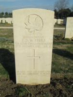 Grave Marker– From the Loyal Edmonton Regimental magazine the Fortyniner.  Submitted for the project, Operation Picture Me