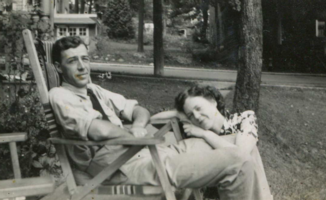 Photo of NELSON WILLIS CLARK– Nelson and Hazel. Submitted for the project, Operation Picture Me