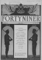Fortyniner magazine– From the Loyal Edmonton Regimental magazine the Fortyniner.  Submitted for the project, Operation Picture Me