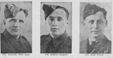 Photo of WILLIAM JOHN EAST– From the Loyal Edmonton Regimental magazine the Fortyniner.  Submitted for the project, Operation Picture Me