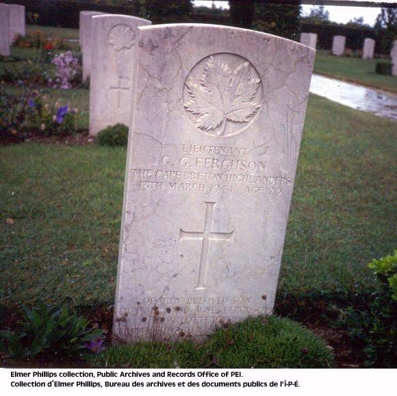 Grave marker for G.G  Ferguson