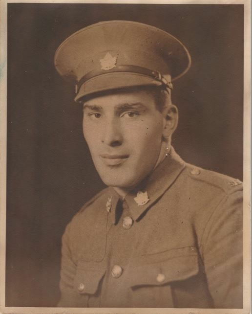 Photo of FREDERICK ARNOLD GREEN– Frederick Arnold Green. L/2851 Saskatoon Light Infantry (M.G.), R.C.I.C.