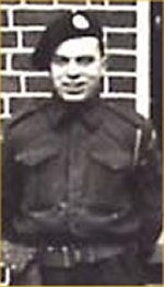 Photo of Arthur Hurd– Your mother's family is very proud of your brave soldiering! We will not forget the great courage which you demonstrated in the Royal Canadian Army Corps at the Commune of Ortona during World War II.